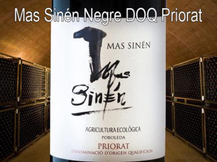 Mas Sinén Negre från Priorat lanseras 1/12 på Systembolaget.