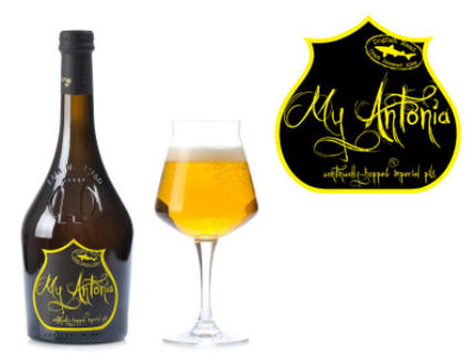 Birra del Borgo + Dogfish Head = My Antonia
