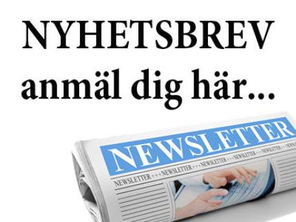 Missa inte våra nyhetsbrev!