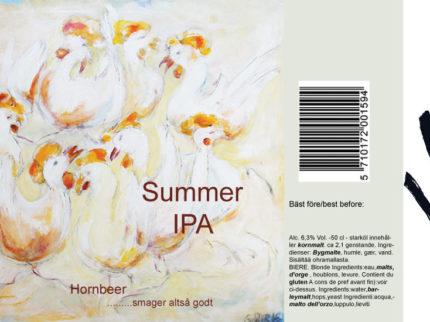 Inför sommarsäsongen lanseras Summer IPA – ett extra friskt sommaröl!