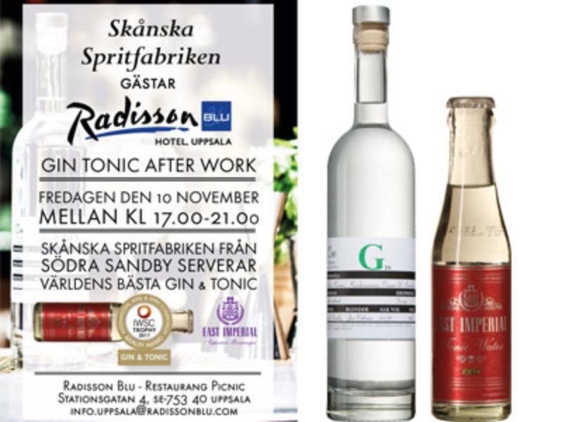 Gin Tonic After Work i Uppsala