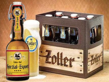 1 mars lanseras Zoller Hof Spezial Export 5% på Systembolaget.