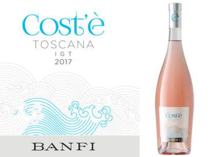 Italiensk rosé när den är som bäst – Banfi Costé Rosato Toscana IGT!