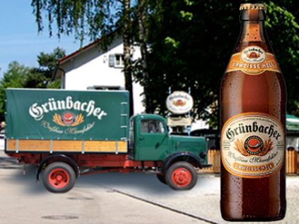 Veteöl från Tyskland at it's best – Grünbacher Urweisse Hell