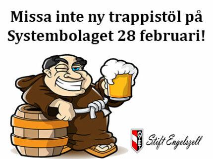 Engelszell Trappisten Weisse – trappistölet släpps på SB lagom till skottdagen.