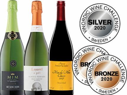 Grattis AMKA till silver- och bronsvinsterna i årets Vinordic Wine Challenge!