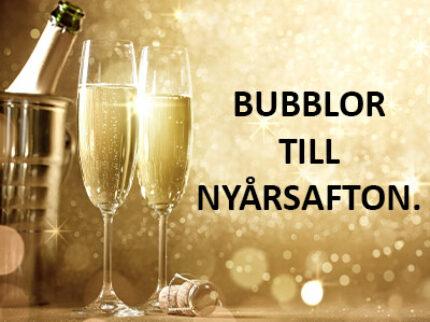 Bubblor till nyår.